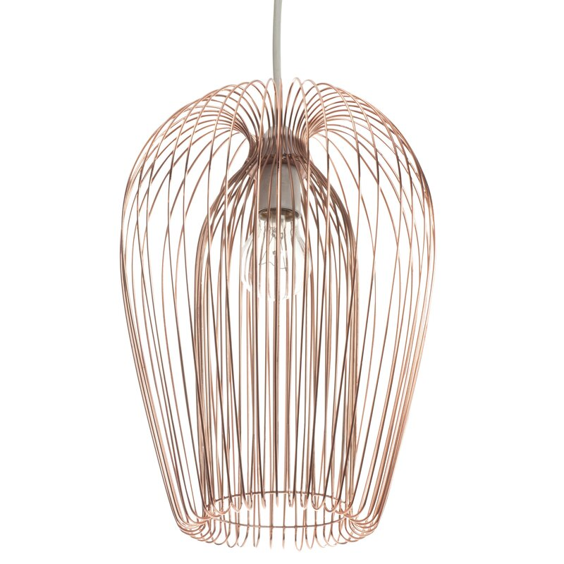 First choice lighting 22cm copper wire lamp shade reviews 22cm copper wire lamp shade keyboard keysfo Images