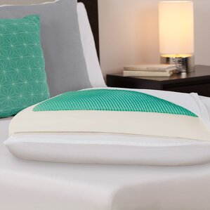 Dreamfinity Comfort Plus Half and Half Cooling Polyfill Standard Pillow by Comfort Revolution