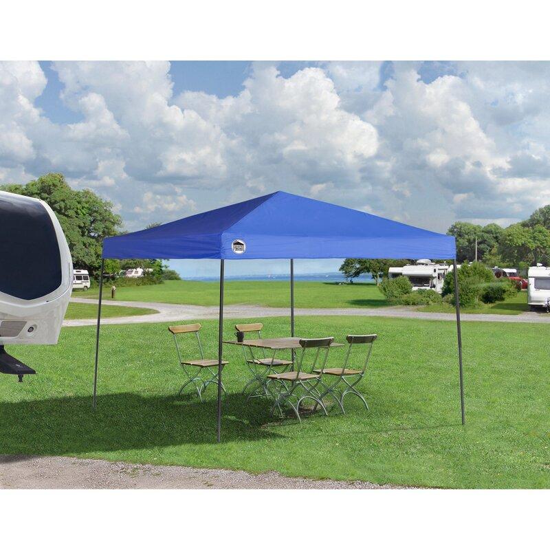 Quikshade Shade Tech 10 Ft W X 10 Ft D Steel Pop Up Canopy