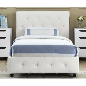 White Bed Frames white spindle bed | wayfair