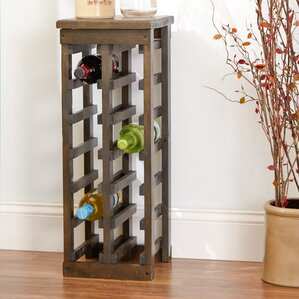 Zanuck 12 Bottle Floor Wine Bottle Rack Part 17