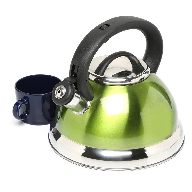 Alexa 3 Qt. Whistling Tea Kettle