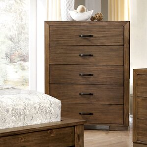 Fort Gibson 5 Drawer Chest by Loon Peak