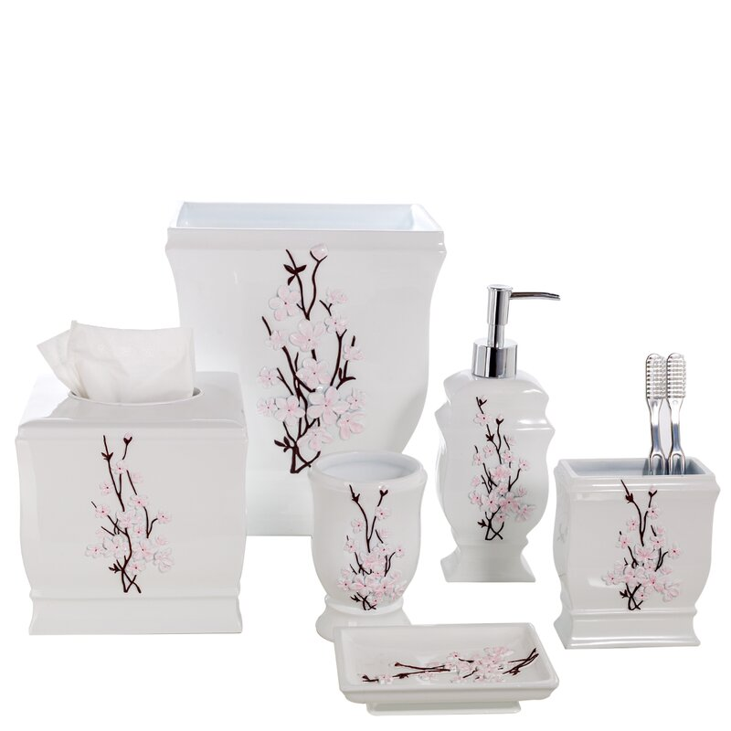Attractive Vanda 6 Piece Bath Accessory Set Pictures Gallery
