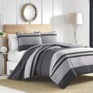 Charcoal Gray Quilt | Wayfair : charcoal gray quilt - Adamdwight.com