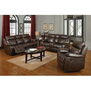 Darby Home Co Chestnut Configurable Living Room Set