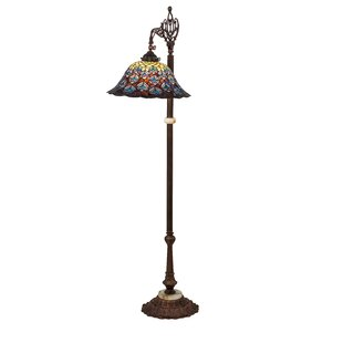 Teal floor lamps wayfair peacock bridge arm 61 task floor lamp mozeypictures Image collections