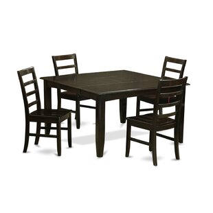 Krull 5 Piece Dining Set