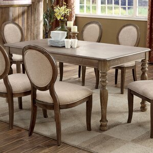 Bloomingdale Transitional Dining Table by One Allium Way