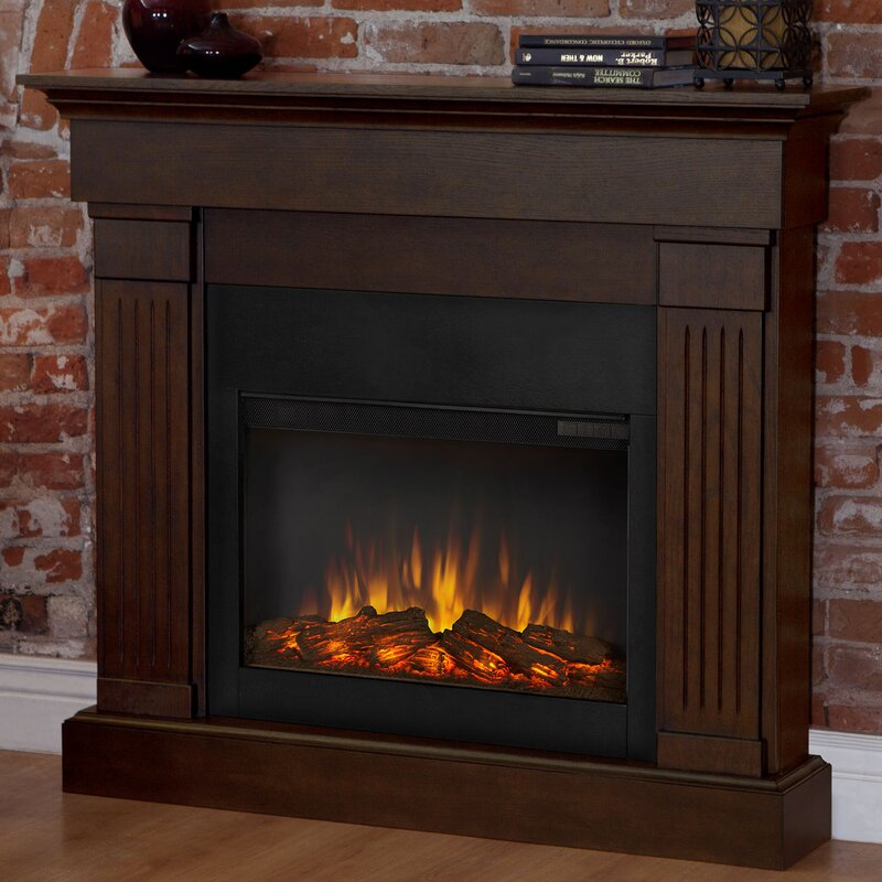 Real Flame Slim Crawford Wall Mount Electric Fireplace & Reviews ...