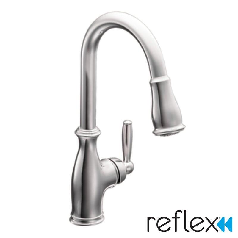 Moen Brantford Single Handle Pull Down Kitchen Faucet