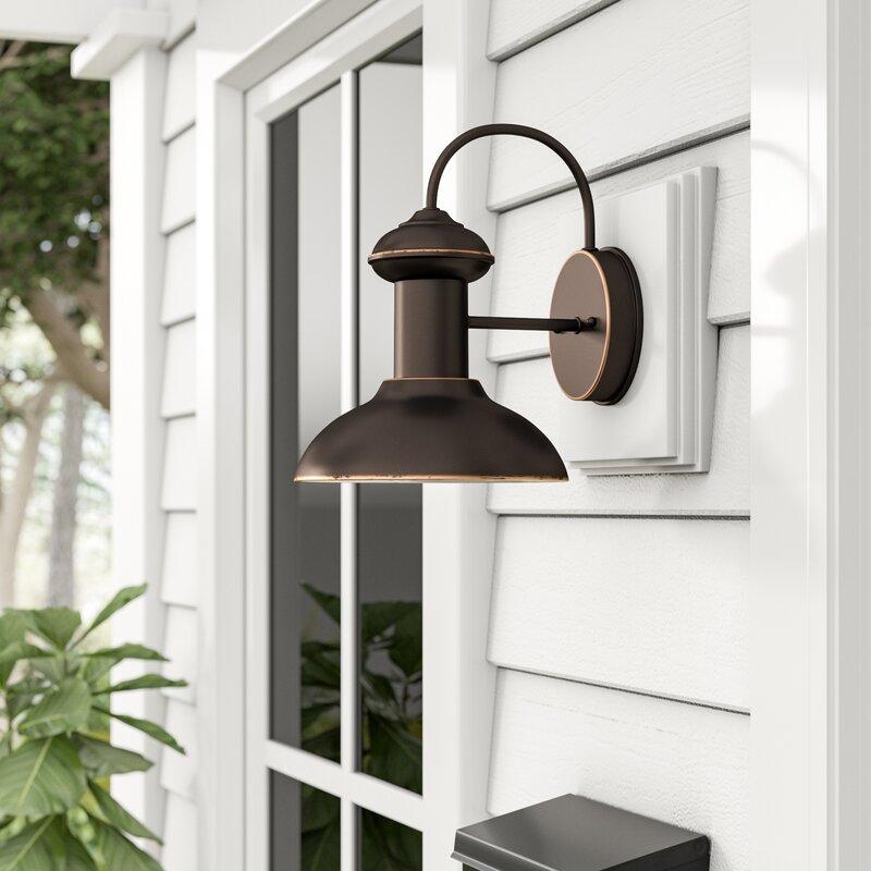 Beachcrest Home Crandallwood Outdoor Barn Light Amp Reviews