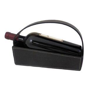 Arlean 1 Bottle Hanging Wine Rack