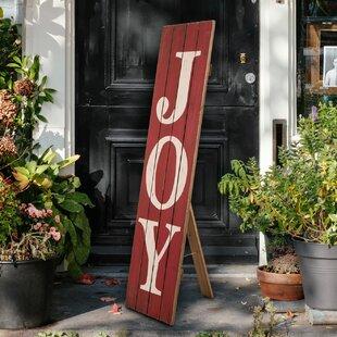 Christmas Outdoor Joy Signs Wayfairca