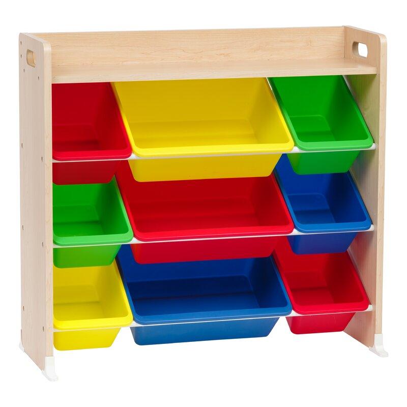 3-Tier Storage Bin Personalized Toy Organizer  sc 1 st  Wayfair & IRIS 3-Tier Storage Bin Personalized Toy Organizer | Wayfair
