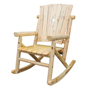 Aspen Cut Out Star Single Rocking Chair I