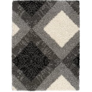 Lau Diamond Grey Rug by Longweave