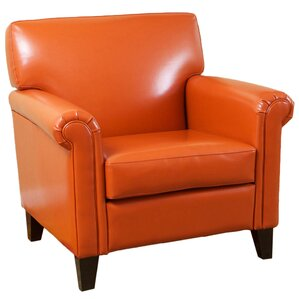 Ishee Bonded Leather Chair by Latitude Run