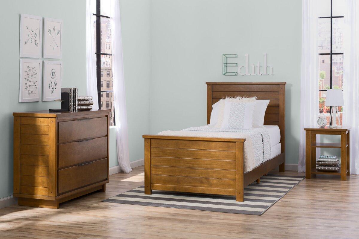 Meadowbrook Twin Panel 3 Piece Bedroom Set