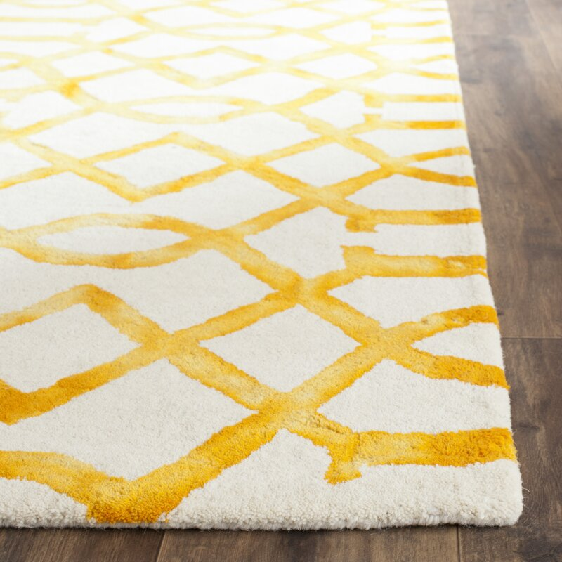 Sinclair Ivory Gold Area Rug