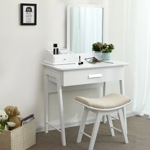 Make Up Dressing Table Set With Mirror