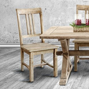 Poulan Solid Wood Dining Chair (Set Of 2)