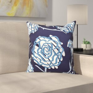 Aletha Spring Floral 2 Print Throw Pillow