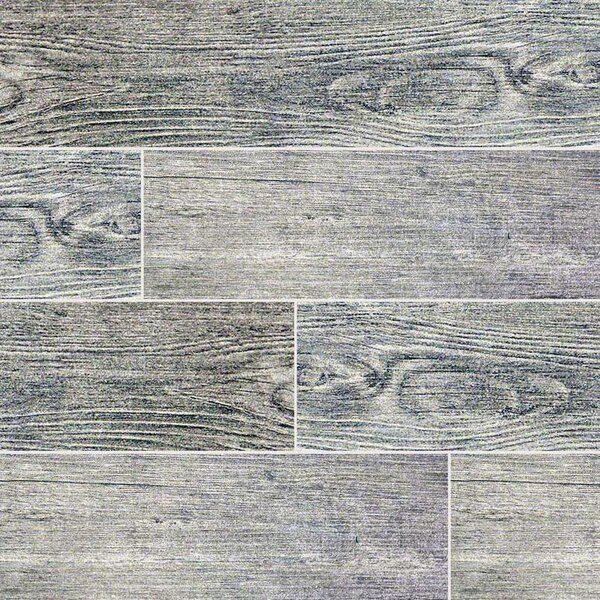 Msi Sonoma Driftwood 6 Quot X 24 Quot Ceramic Wood Look Tile In