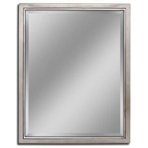 kennith classic metal framed bathroomvanity wall mirror - White Framed Bathroom Mirrors