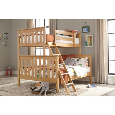 Seneca Twin over Full Bunk Bed Epoch Design Color: Natural Birch