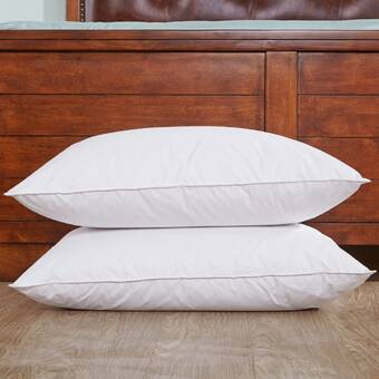 Down And Feathers Bed Pillow Set Of 2