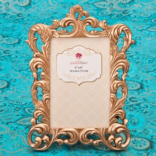 6d7ec4ef77c Rose Gold Baroque Picture Frame