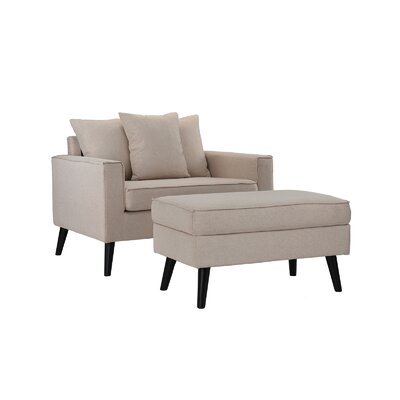 Chair Amp Ottoman Sets You Ll Love Wayfair Ca