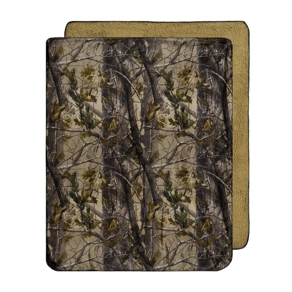 Throw Rug Purpose: Realtree Realtree Realtree All Purpose Micro Mink Throw