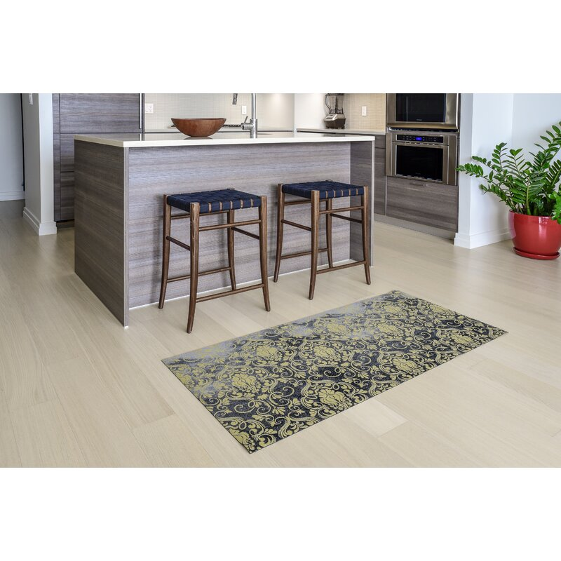 Gerda All Weather Modern Runner Kitchen Mat
