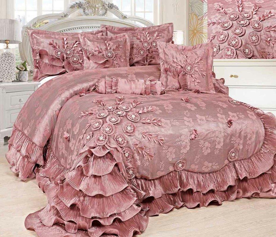 Tache Home Fashion Royal Dreams 6 Piece Comforter Set & Reviews ...