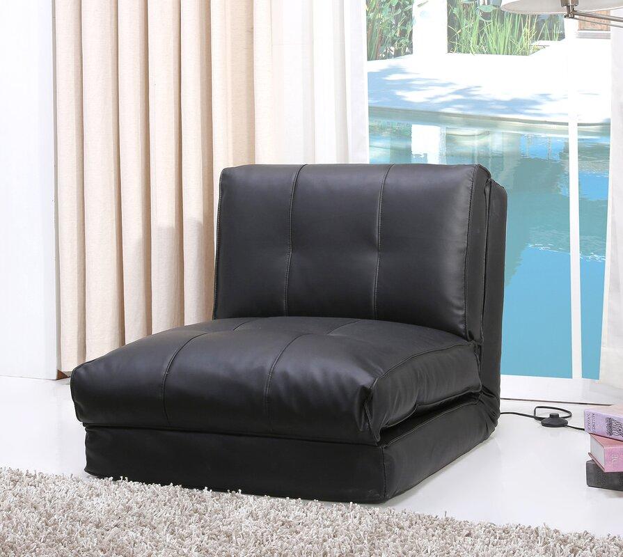 Latitude Run Balmoral Single Sleeper Convertible Chair