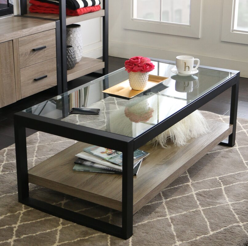 Glass Coffee Tables Next: Mercury Row Theodulus Coffee Table & Reviews