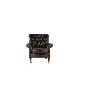 Club Chair by Lazzaro Leather