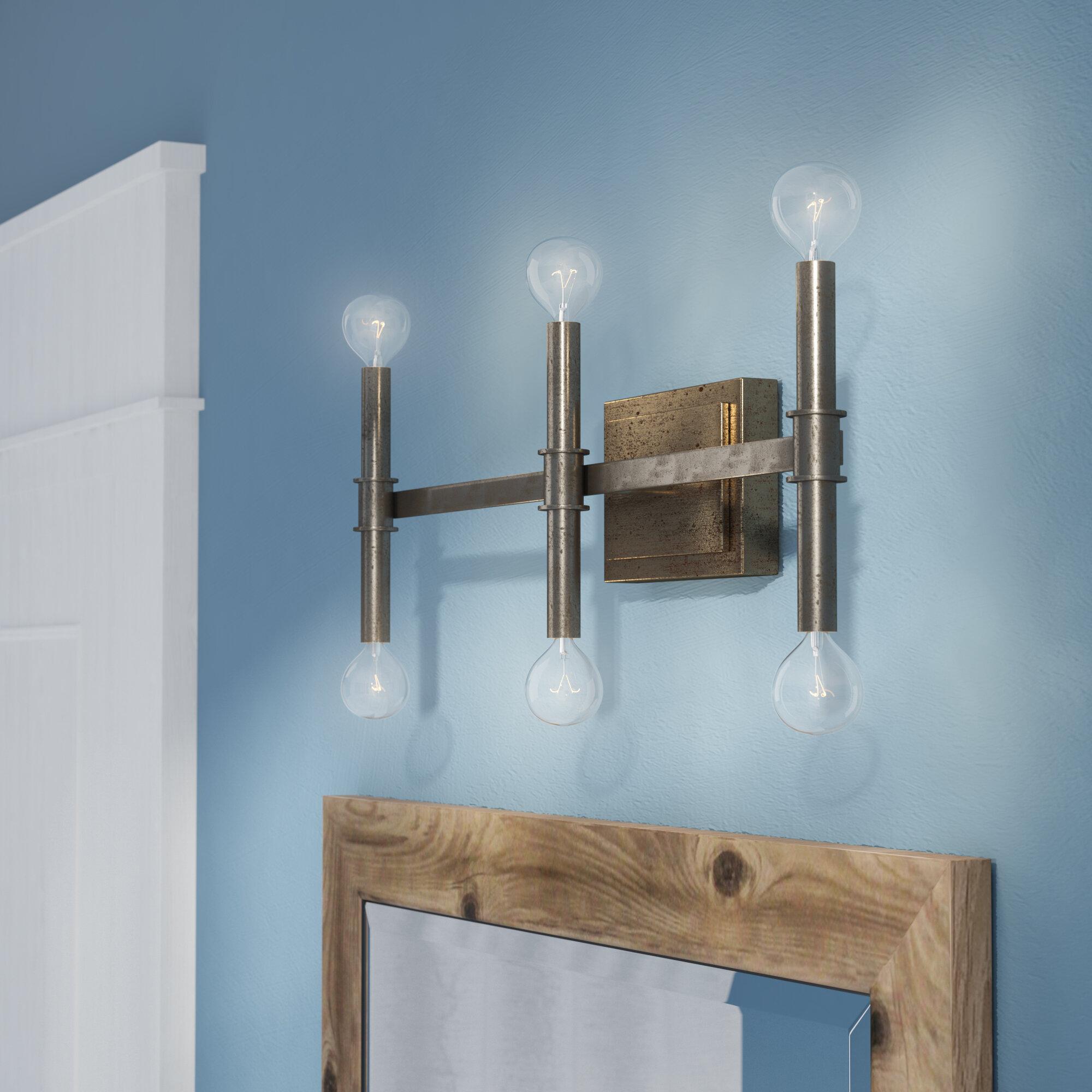 Union Rustic Deller 6-Light Vanity Light & Reviews   Wayfair