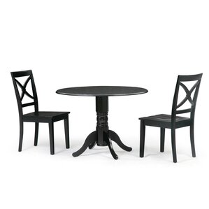 Chesterton 3 Piece Drop Leaf Dining Set by Alcot..