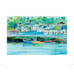 'Harbour Colours' Painting Print