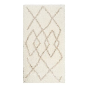 Alejandra Woven White Rug by Norden Home