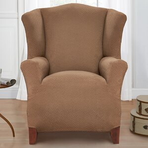 Exceptional Box Cushion Armchair Slipcover