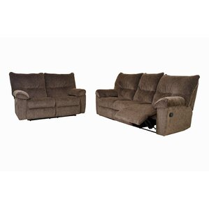 Double Reclining Sofa by Serta Upholstery