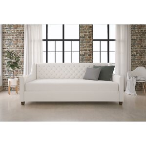 Pihu Tufted Upholstered Daybed by Willa Arlo Interiors Image