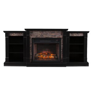 Corwin Infrared Electric Fireplace by Breakwater Bay