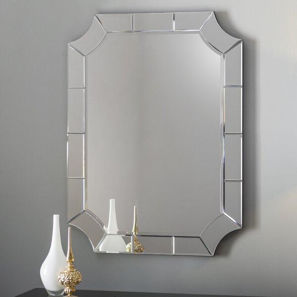 Scalloped Corner Wall Mirror Amp Reviews Birch Lane