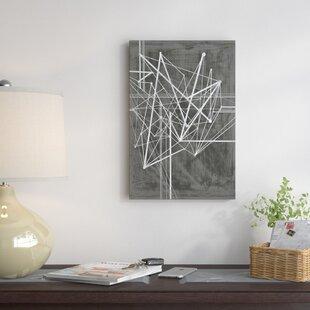 f6bdf635251c  Vertices I  Graphic Art Print on Canvas