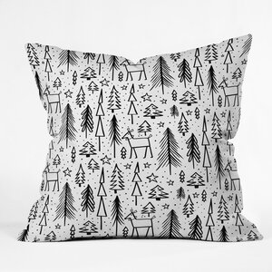 Heather Dutton Winter Wonderland Throw Pillow